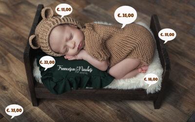 Quanto costa un servizio fotografico Newborn?